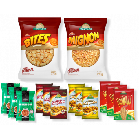 Kit Snacks e Salgados