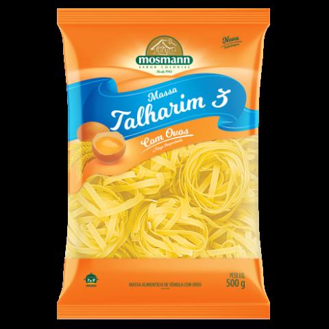 Massa Com Ovos Talharim 3 500g