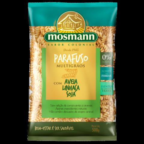 Massa Espaguete Parafuso Multigrãos 500g