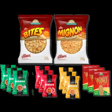 Kit Snacks e Salgados
