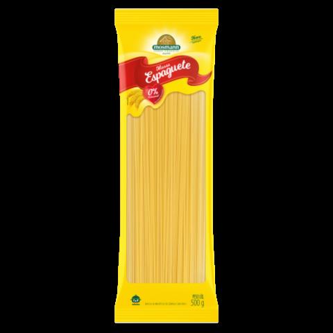 Massa Sem Ovos Espaguete Reto 500g