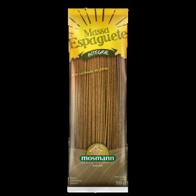 Massa Espaguete Reto 100% Integral 500g