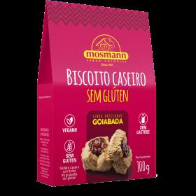 BISCOITO CASEIRO SEM GLÚTEN GOIABADA 100g
