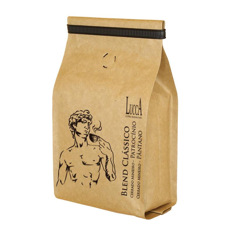 Café Especial torrado Blend Clássico - Pacote com 250 gramas