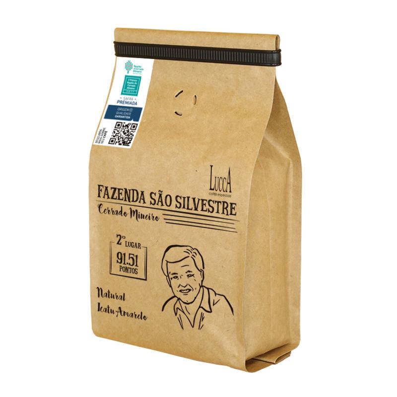 Café torrado Fazenda São Silvestre - Pacote com 250 gramas