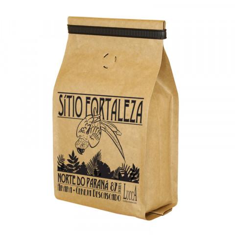 Café Especial torrado Sítio Fortaleza - Pacote com 250 gramas