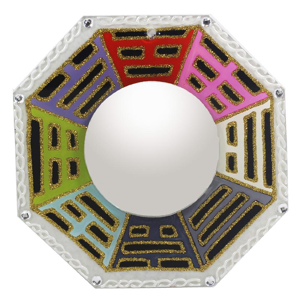 1014- Baguá com Espelho Branco