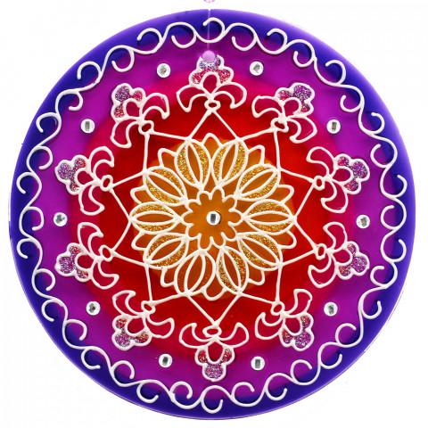 1204-Mandala Prosperidade-14 CM