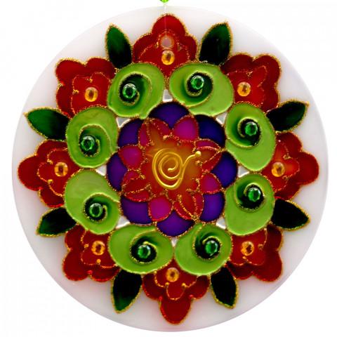 1417 - Mandala Outono 30 CM