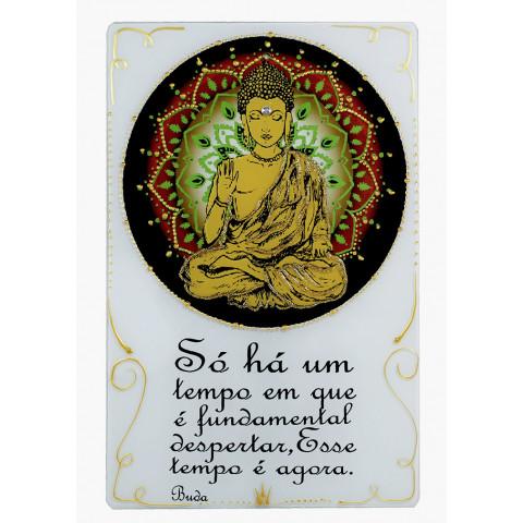 1744- Placa  Mandala Buda