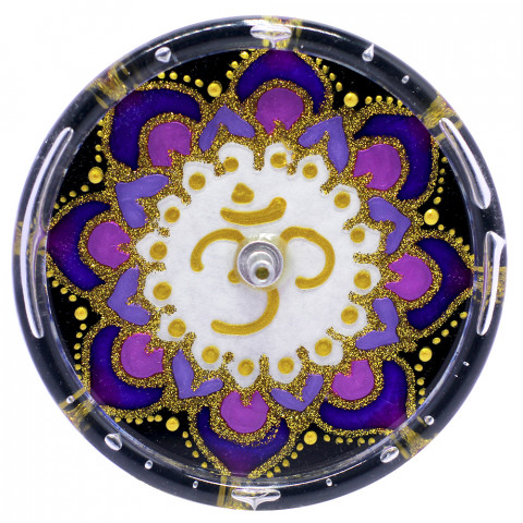 650-17 Incensário Redondo OM 10 cm