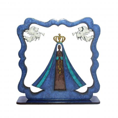 Placa 3D  Nossa Senhora de Aparecida M