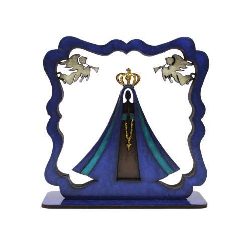 Placa 3D Nossa Senhora de Aparecida P