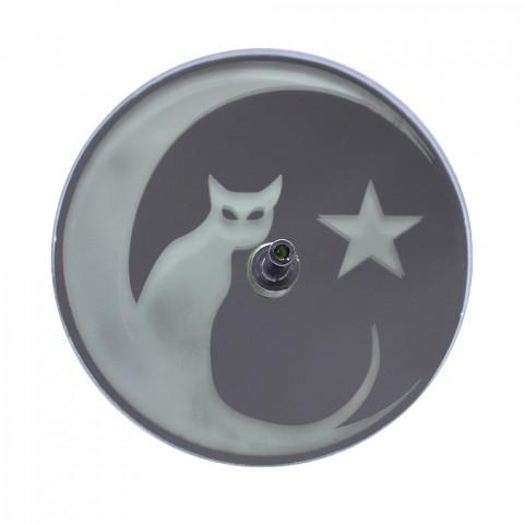 730-4 Incensário Jato Gato 8cm