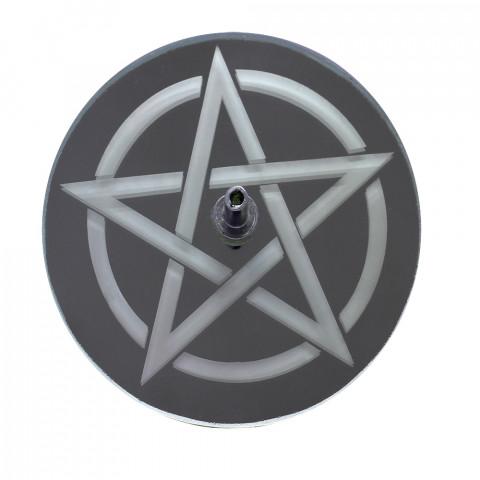 730-6 Incensário Jato Pentagrama 8cm