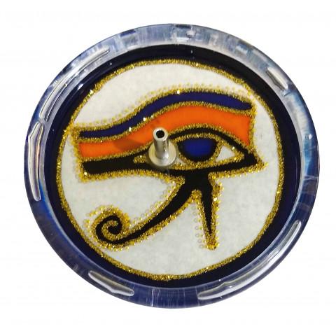 650-6 Incensário Redondo Olho de Horus