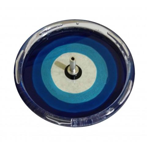 650-15 Incensário Redondo Olho Grego