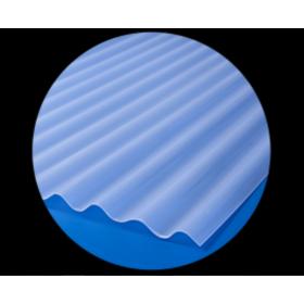 Telha de Polipropileno 2,44x0,50 Lux Telhas