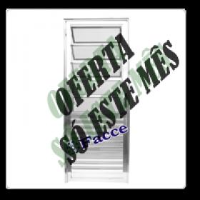 Porta Basculante Aluminio 2,10 x 0,80