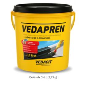 VEDAPREN PRETO 3,6LT GL OTTO BAUMGART