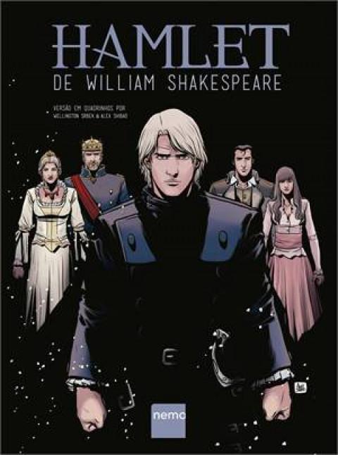 HAMLET de William Shakespeare - versão quadrinhos