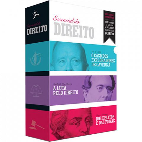 O ESSENCIAL DO DIREITO - Box com 3 volumes - Vários autores