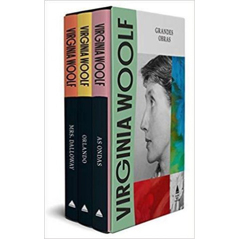 VIRGINIA WOOLF: GRANDES OBRAS - box com 3 volumes
