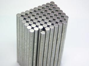 Imã extra forte de neodímio para lacinho - 6mm X 2mm ( unidade) PROMOÇÃO