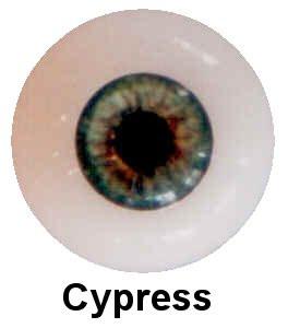 Olhos em Silicone Eyeco Platinum Cor Cyprest - 19mm