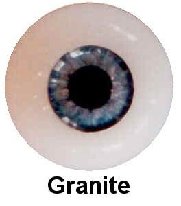 Olhos em Silicone Eyeco Platinum Cor Granite-19mm