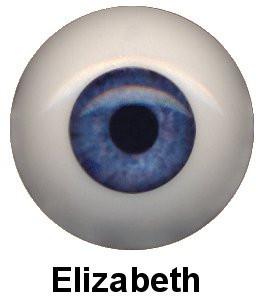 Olhos em Silicone Eyeco Ultra Cor Elizabeth-19mm