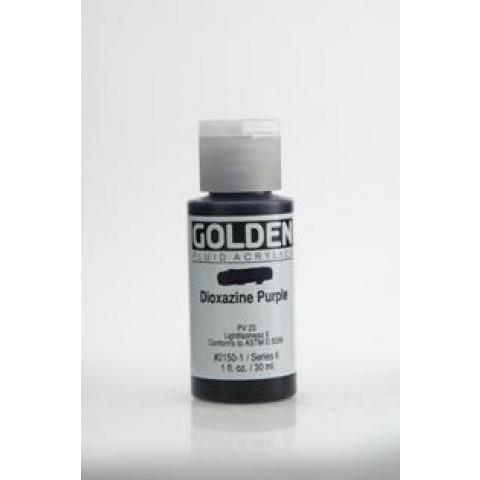 Tinta Golden air dry Dioxazine purple ( 4 gramas) Nao precisa forno