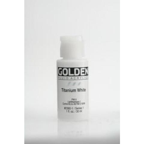 Tinta Golden air dry Titaniun White ( 4 gramas) Nao precisa forno