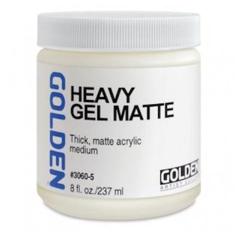 Heavy Gel Matte- Golden- 4 G