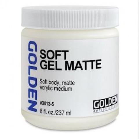 Soft Gel Matte  - Verniz Golden  4G