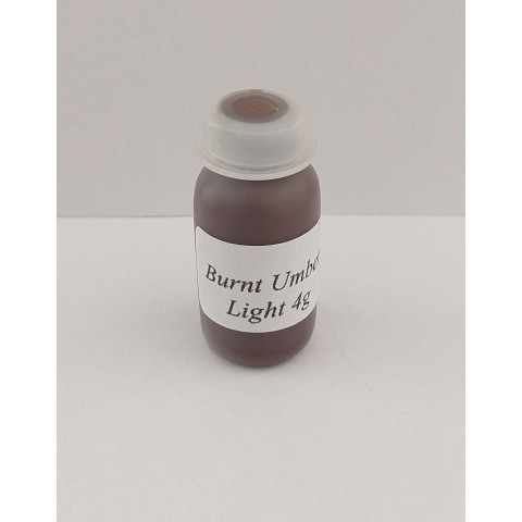 Tinta Golden air dry Burnt Umber light  ( 4 gramas) Nao precisa forno