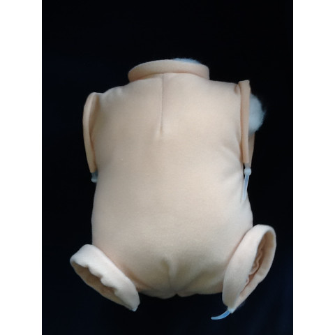 Corpo importado para braços inteiros e pernas inteiras Com BUMBUM-17-18