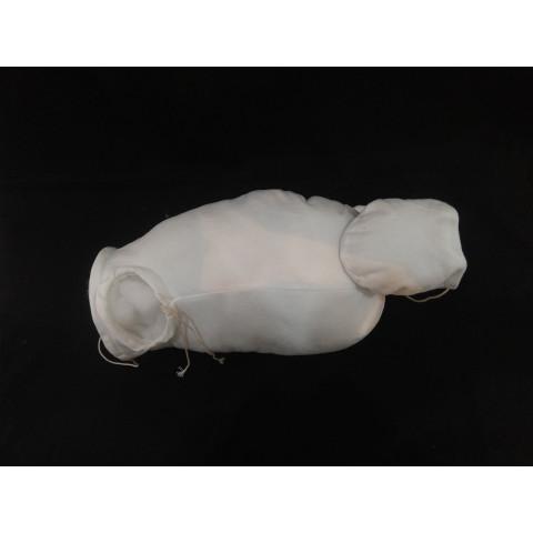 Corpo Importado para braços inteiros e pernas 3/4- Branco