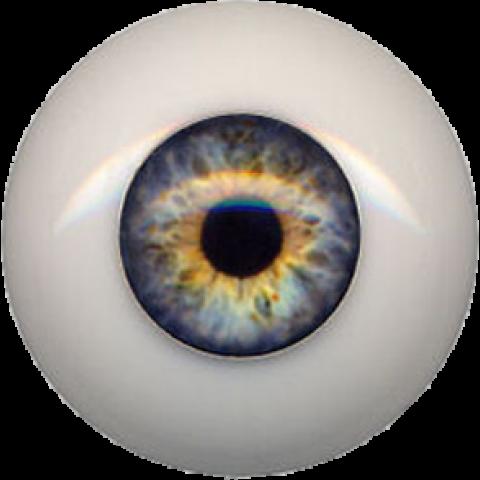 Olhos em Silicone Eyeco Fantasy Cor A190-23mm