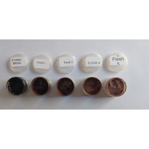 Kit de tintas Gênesis- ETNICO com 5 cores