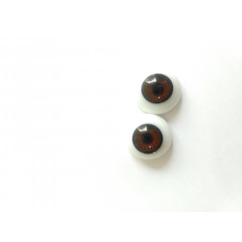 Olhos de vidro LDC Luminous Hazel 20mm