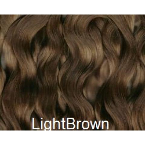 Mohair Premium Slumberland Wavy/Curly  -Baby Brown ( Castanho Claro)