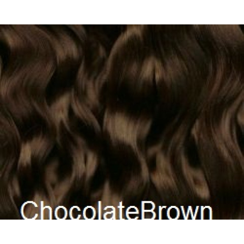 Mohair Premium Slumberland Wavy / Curly  -Chocolate Brown ( Chocolate)