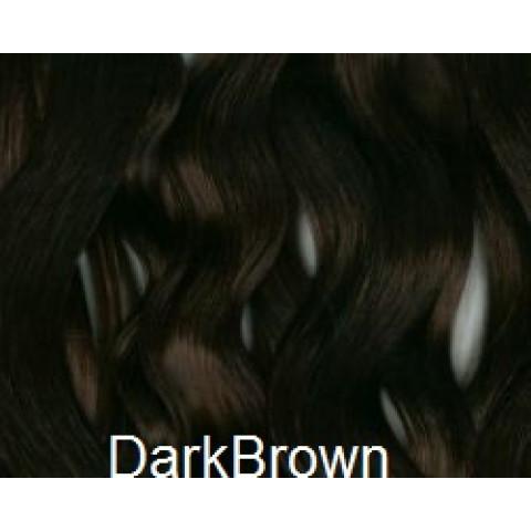 Mohair Premium Slumberland Wavy/Curly  -Dark Brown  castanho escuro