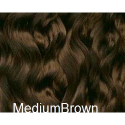 Mohair Premium Slumberland Yearling -castanho médio