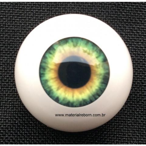 Olhos Aqua Hazel -18mm