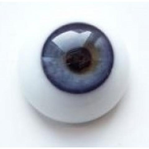 Olhos de vidro azul Claro  ( vários tamanhos)