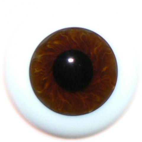 Olhos de vidro Castanho ( vários tamanhos)