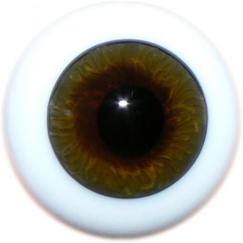 Olhos de vidro Hazel ( vários tamanhos)