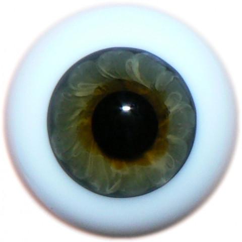 Olhos de vidro Topazio-18mm